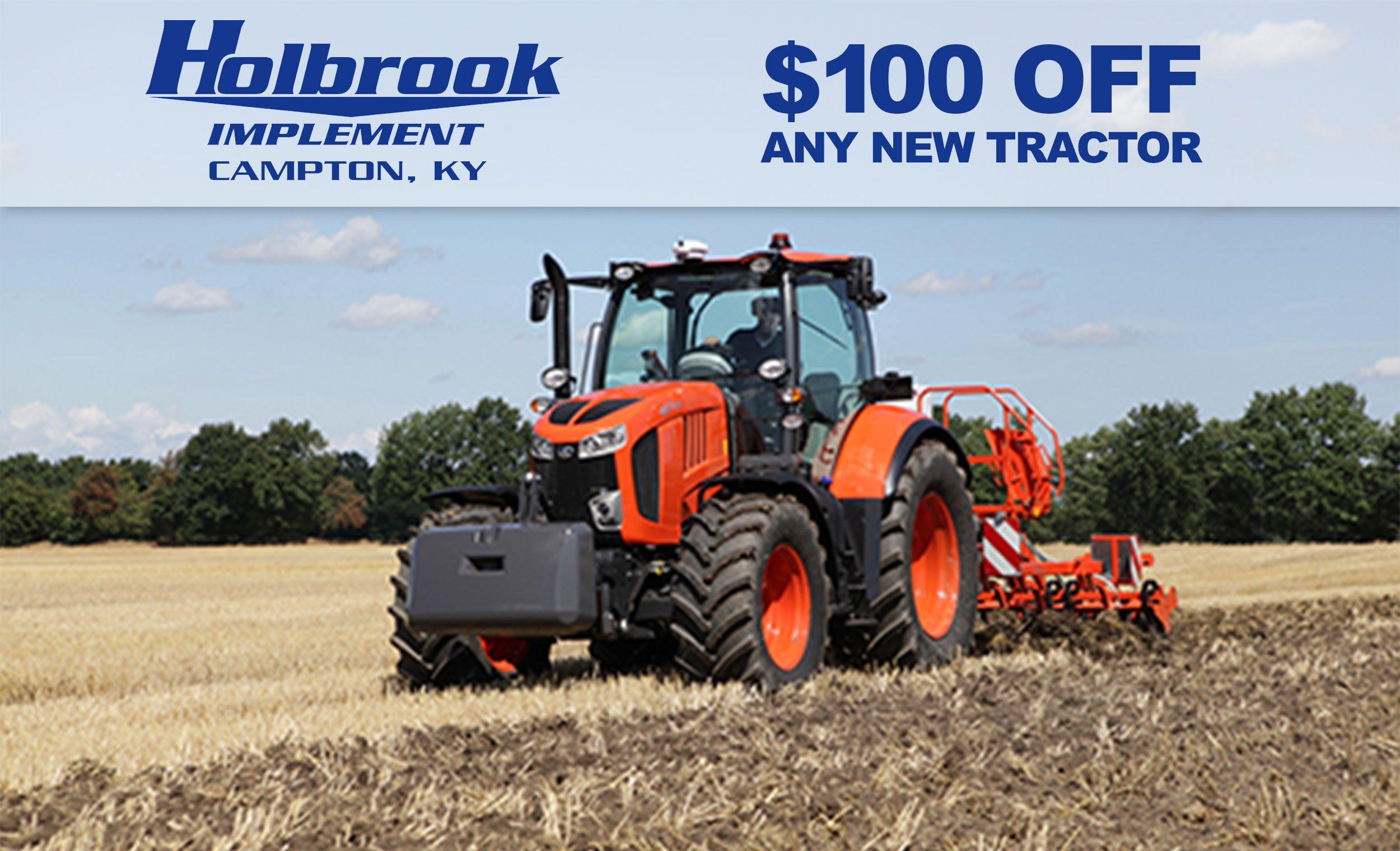 Kubota tractors for sale in kentucky - 2e91bdd4ae9c1505748942 100offtractornewlogoholbrookimp Jpg