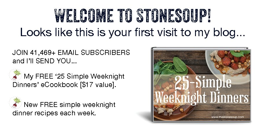 Stonesoup simple weeknight dinners forumfinder Gallery