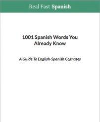 Spanish Cognates - 1001 Spanish Words You Already Know